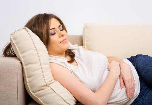 Sleep Measures Can Help Predict Next-Day Symptoms in IBS Female Patients