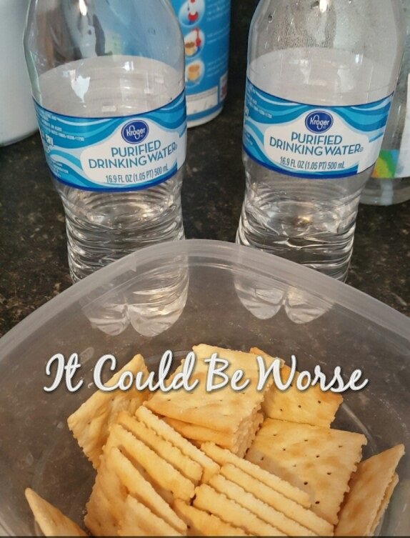 Water and crackers