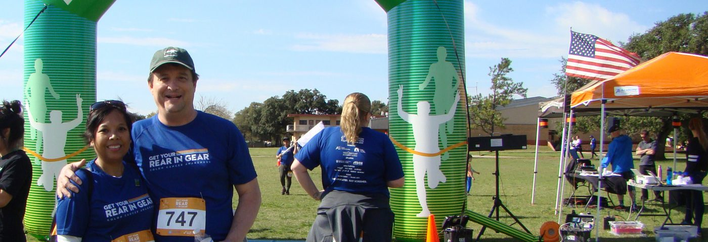 Raising Awareness About Colon Cancer One Step at a Time